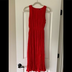 Banana Republic Red Dress